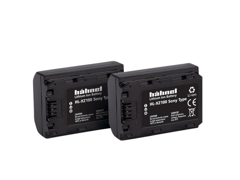 Hähnel Sony HL-XZ100 Batteri Twin Pack