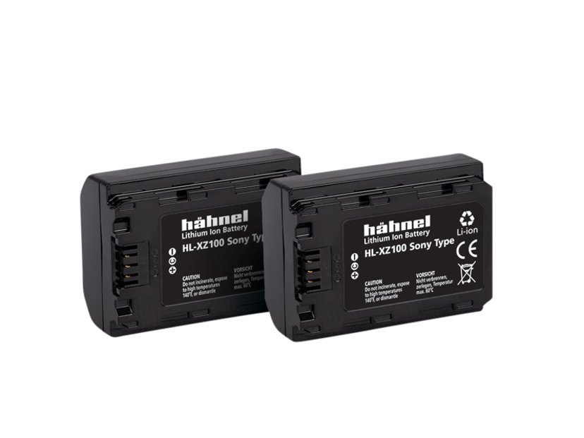 Hähnel Sony HL-XZ100 Battery Twin Pack