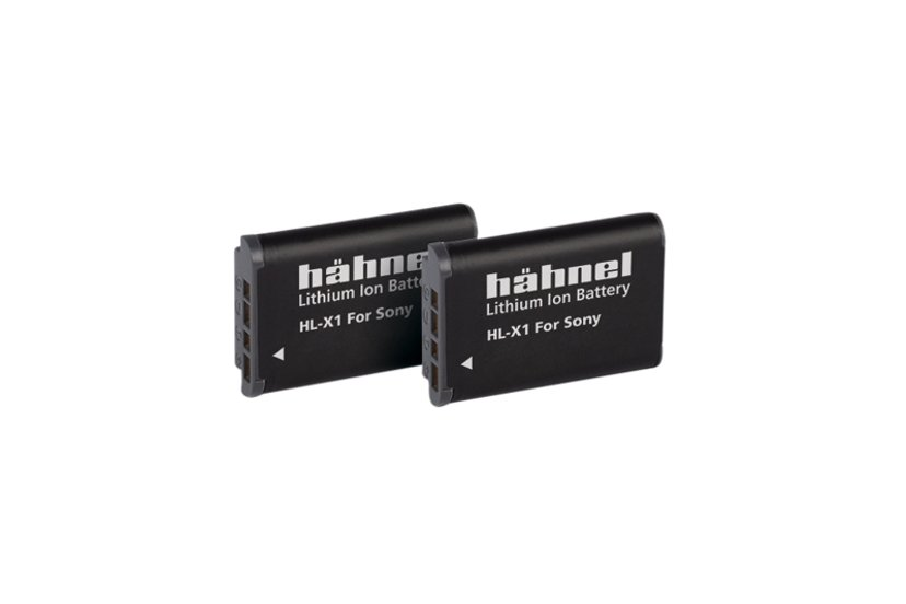 Hähnel Sony HL-X1 Battery Twin Pack