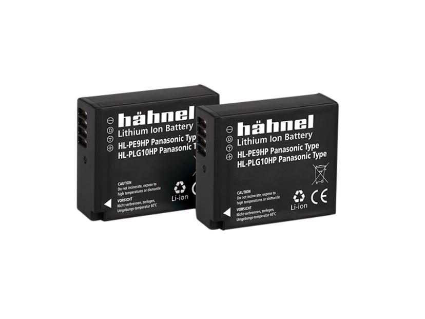 Hähnel Panasonic HL-PLG10HP Battery Twin Pack