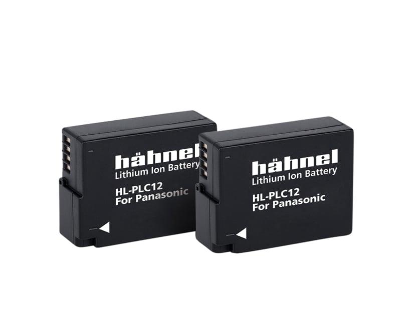 Hähnel Panasonic HL-PLC12 Batteri Twin Pack