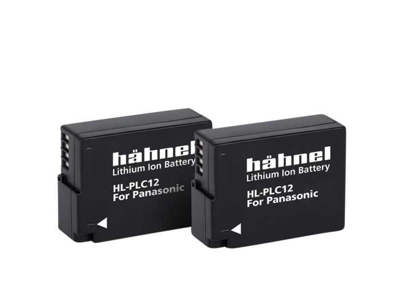 Hähnel Panasonic HL-PLC12 Battery Twin Pack
