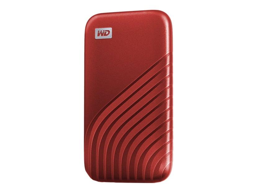 WD My Passport SSD 0.488TB Rød