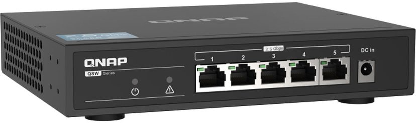 QNAP QSW-1105-5T 2.5G Ethernet Switch