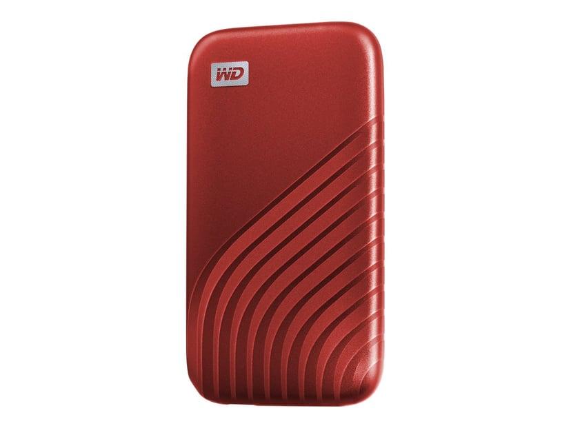 WD My Passport SSD 2TB Rød