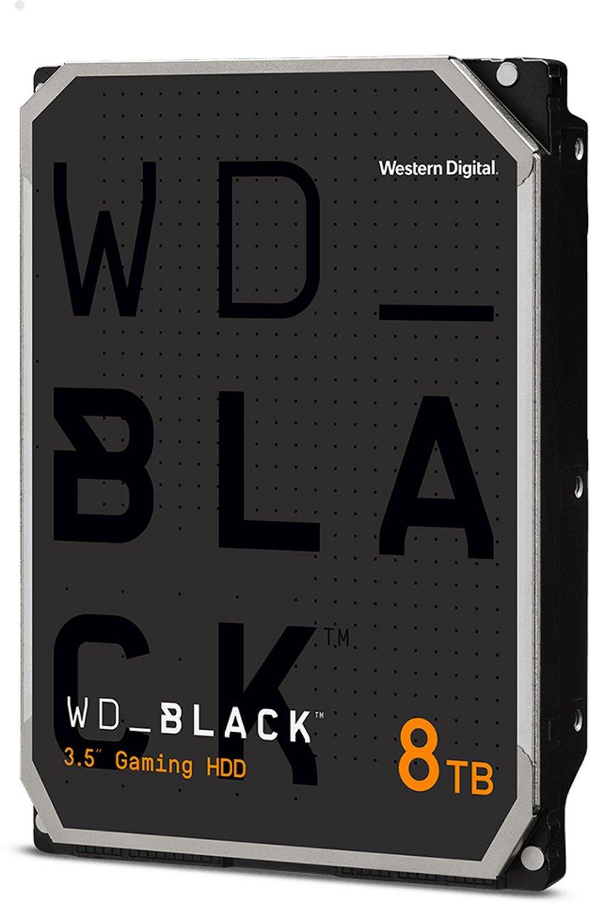 "WD Black 8TB 3.5"" Serial ATA-600"