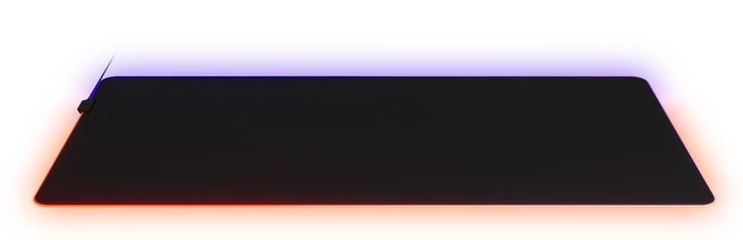 Steelseries QcK Prism 3XL Belyst tastatur og musematte