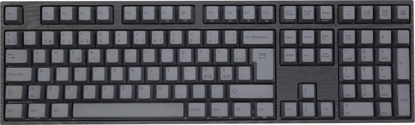 Varmilo VA109M Charcoal MX Silent Red Kablet Tastatur Nordisk Grå