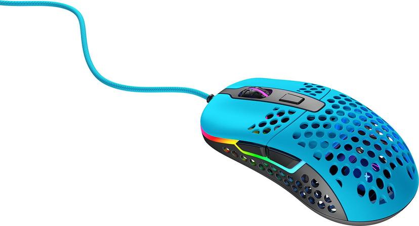 Xtrfy M42 RGB Gaming Mouse Miami Blue 16,000dpi Mus Kablet Blå