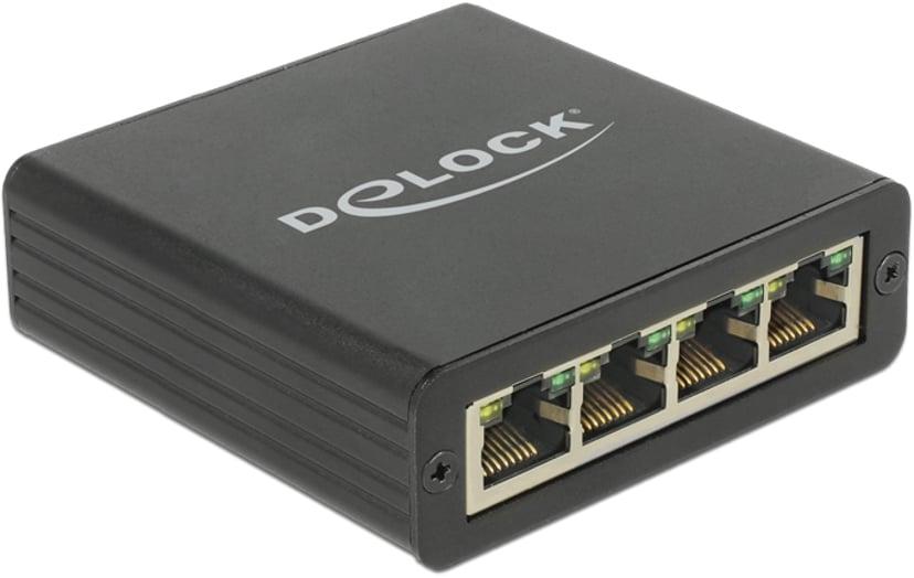 Delock Adapter USB 3.0 > 4 x Gigabit LAN