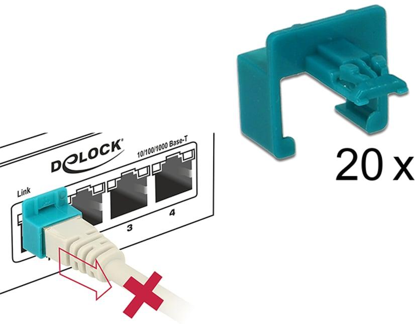 Delock RJ45 Säkerhetskontakt Startset 20-pack