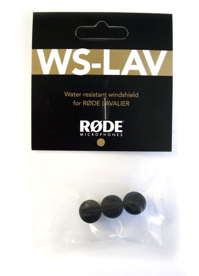 Røde WS-LAV puffskydd till Lavalier 3-pack Svart