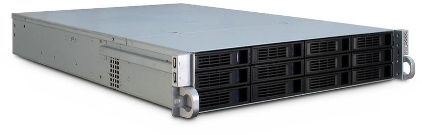Inter-Tech IPC 2U-2412 Svart