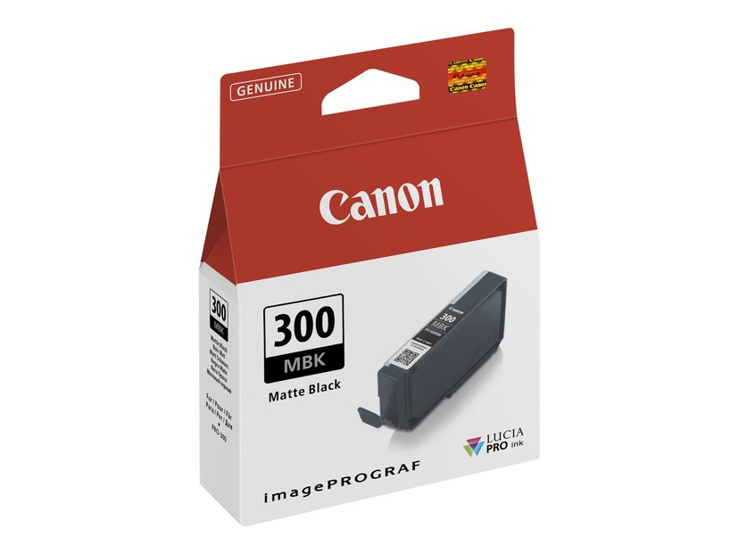 Canon Blekk Matt Svart PFI-300 MBK - PRO-300