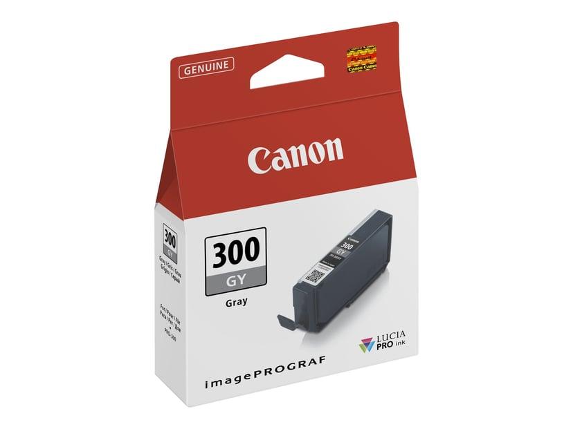 Canon Bläck Grå PFI-300 GY - PRO-300