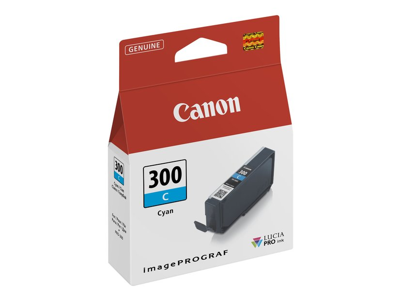 Canon Blekk Cyan PFI-300 C - PRO-300