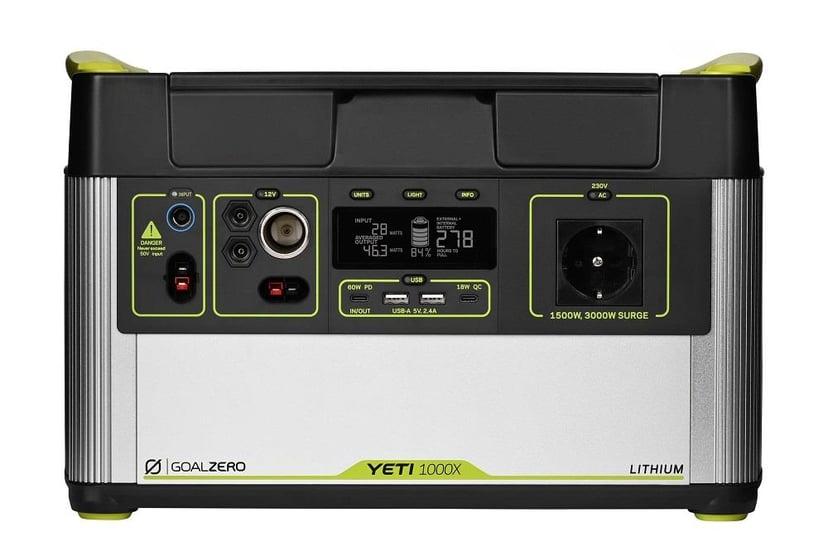 Goal Zero Yeti 1000X Portable Power Station