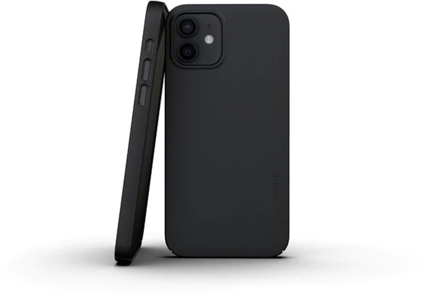 Nudient Thin Precise Case V3 iPhone 12 Mini Svart