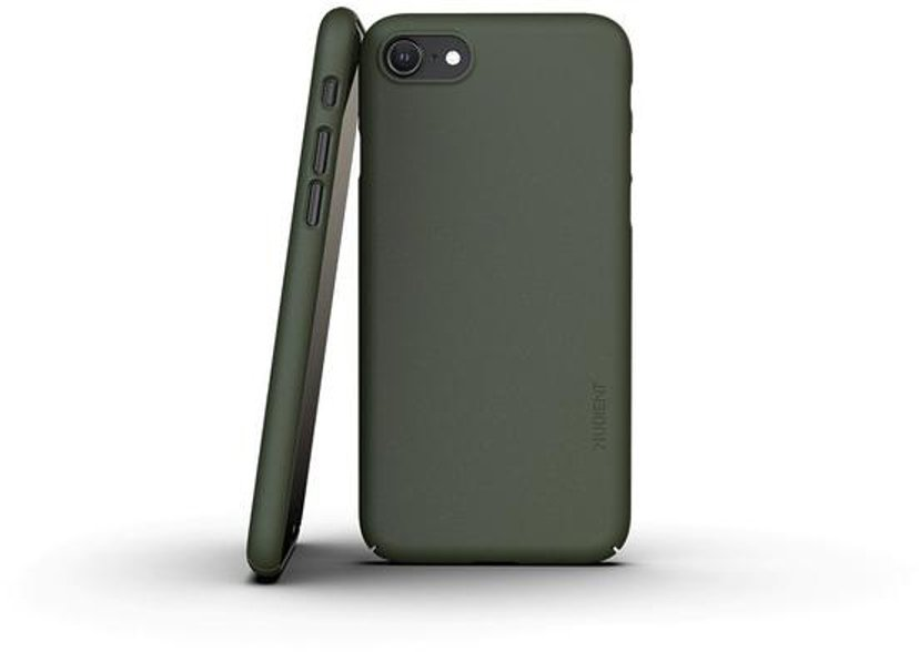 Nudient Thin Precise Case V3 iPhone 7, iPhone 8, iPhone SE (2020) Grøn