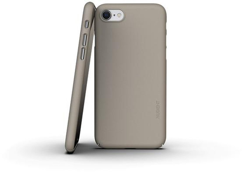 Nudient Thin Precise Case V3 iPhone 7, iPhone 8, iPhone SE (2020) Beige