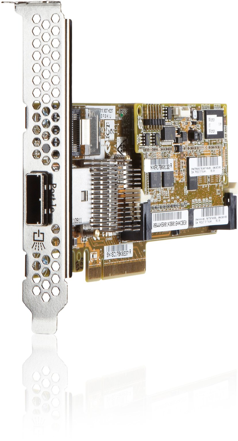 HPE Smart Array P222/512 with FBWC PCIe 3.0 x8, PCI Express 3.0 x8