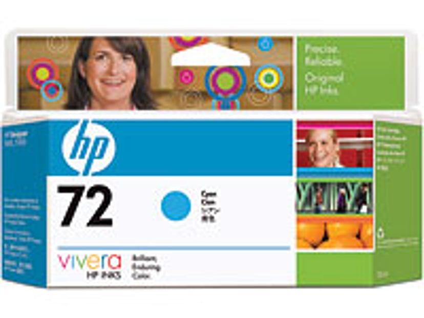 HP Inkt Cyaan No.72 - T1100 130ml