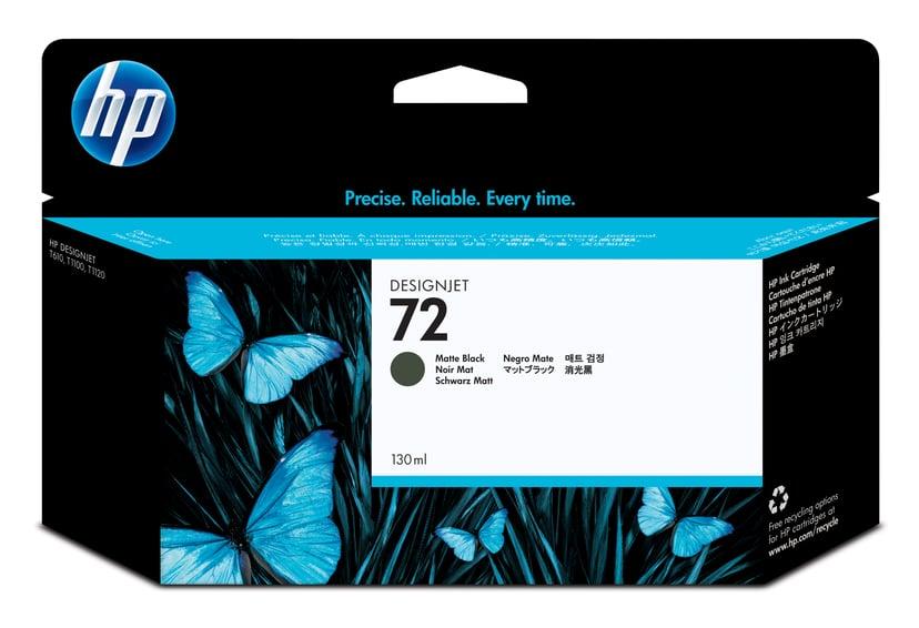 HP Blekk Matt Svart No.72 - T1100 130ml