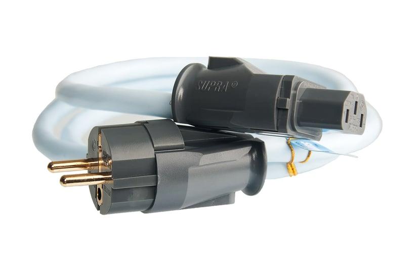 Jenving SUPRA LoRad 2.5 1m CEE 7/7 strøm Hann Strøm IEC 60320 C13