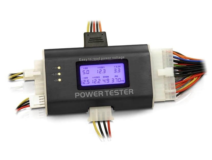 Delock Power Tester ATX strømforsyningstester