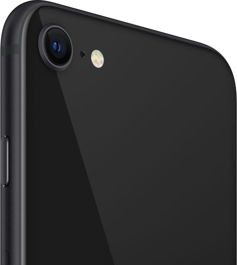 Apple iPhone SE + cover + skærmbeskyttelse 64GB Sort