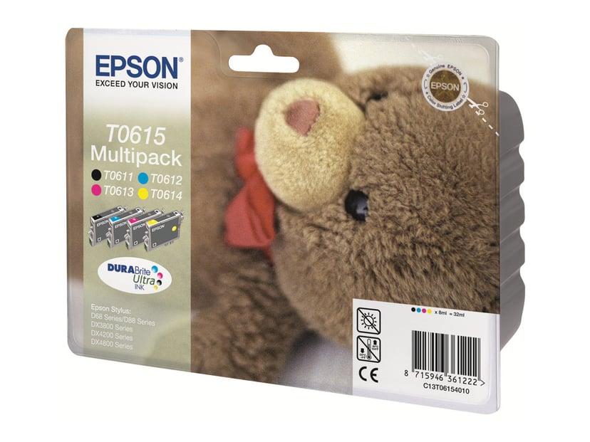 Epson Blekk Multipack T0615