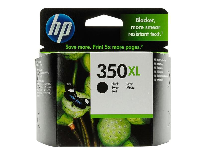 HP Blekk Svart No.350XL OfficeJet J5780 25ml