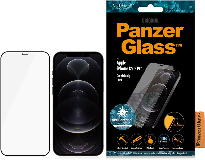 Panzerglass Case Friendly iPhone 12, iPhone 12 Pro