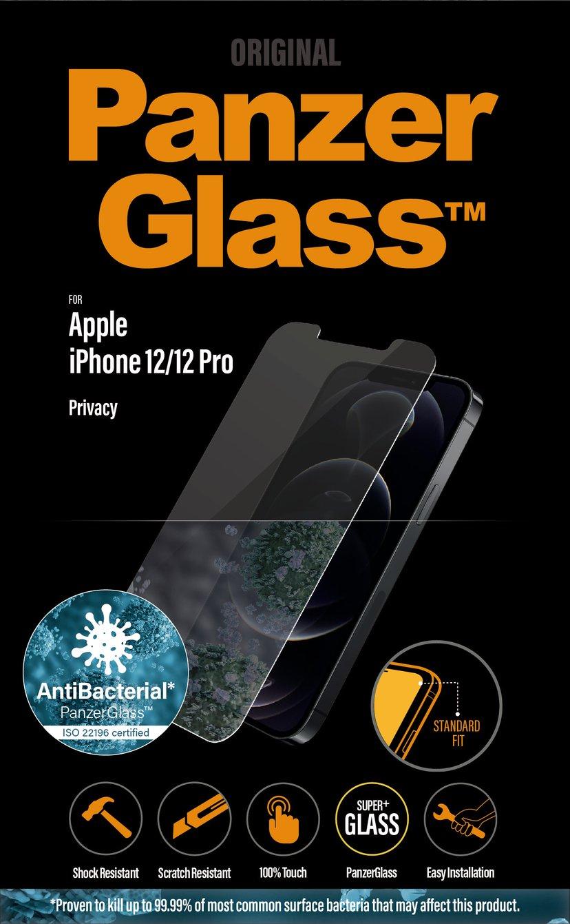 Panzerglass Privacy iPhone 12, iPhone 12 Pro