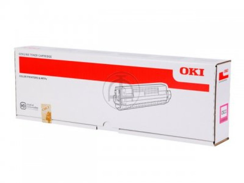 OKI Toner Magenta 7,3k - C822