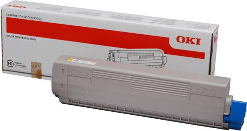 OKI Värikasetti Keltainen 10k - C831