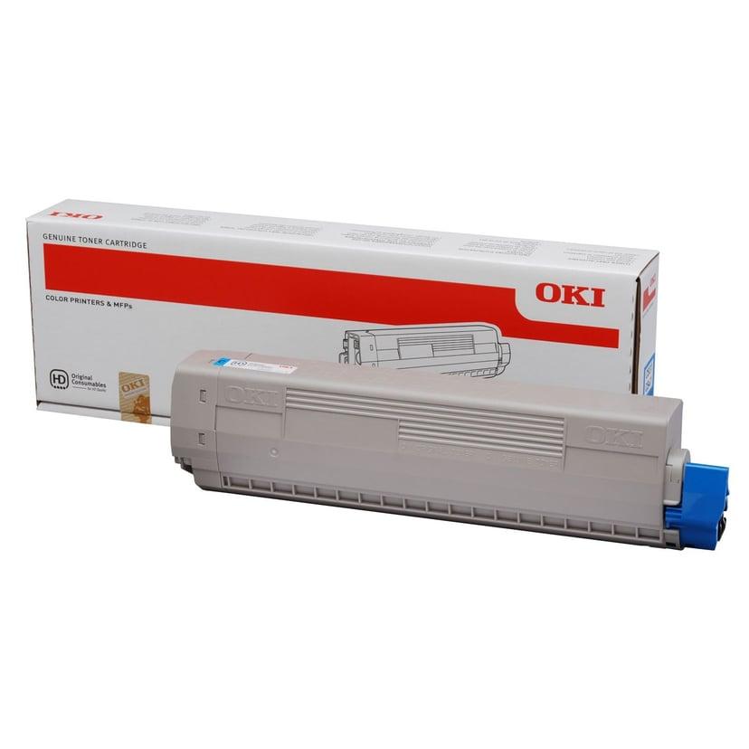 OKI Toner Cyaan 10k - C831