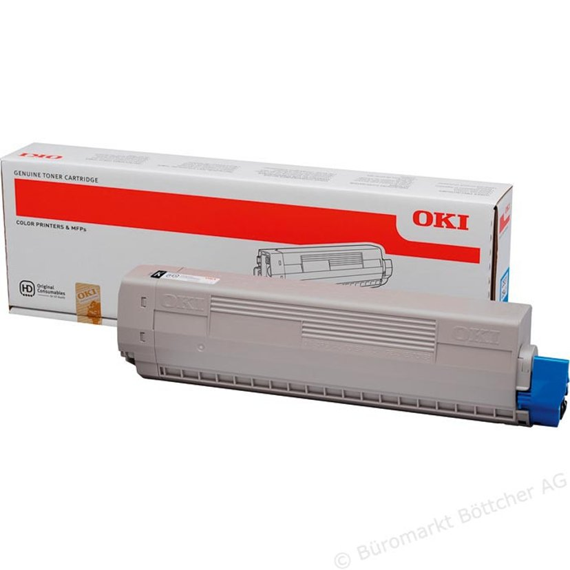 OKI Toner Svart 10k - C831