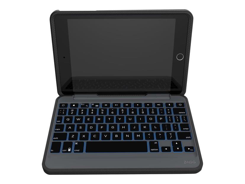 Zagg Rugged Book Med Tangentbord iPad Mini 2/3/4/5 Nordiskt