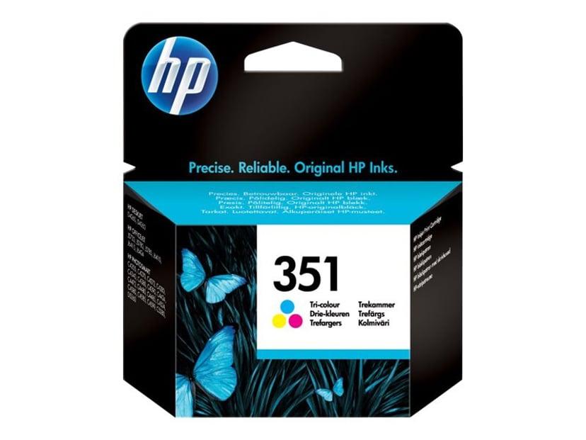 HP Blæk Farve No.351 OfficeJet J5780 3,5ml