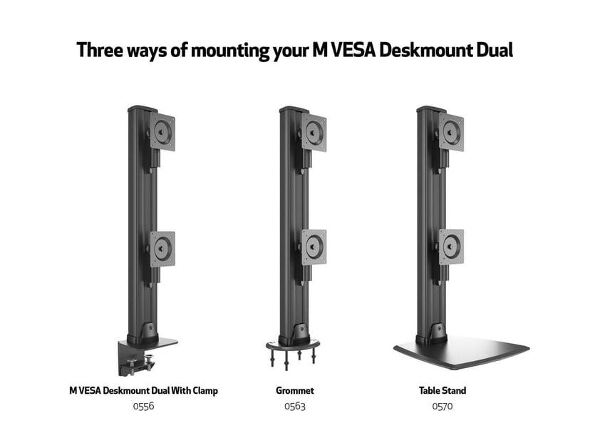 "Multibrackets M VESA Deskmount HD Dual Vertical Wide 32""-50"""