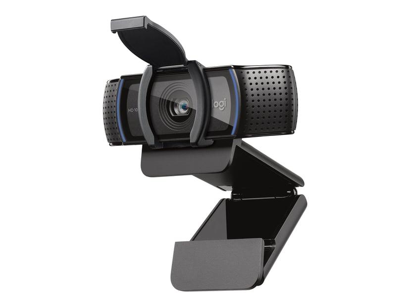 Logitech C920e 1080P Sort Webcam 1920 x 1080