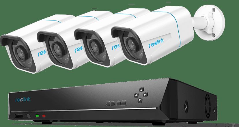 Reolink RLK8-810B4-A Smart 4K Security Bundle 2TB