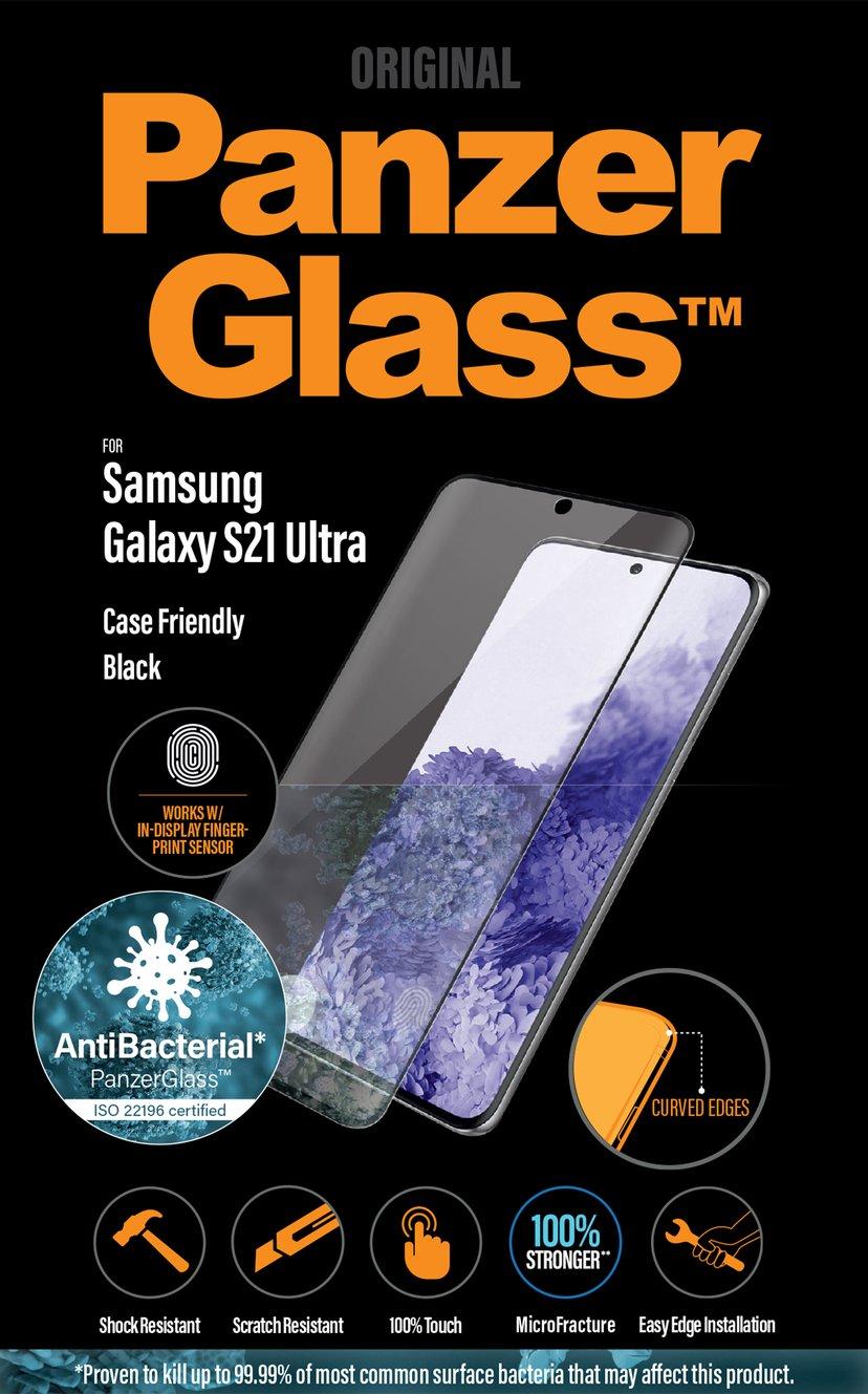 Panzerglass Fingerprint Case Friendly Samsung Galaxy S21 Ultra