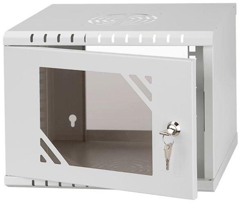"""Direktronik Wall Rack 10"""" 4U Glass Door"""