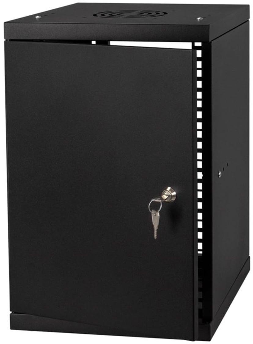 """Direktronik Wall Rack 10"""" 9U Metal Door"""