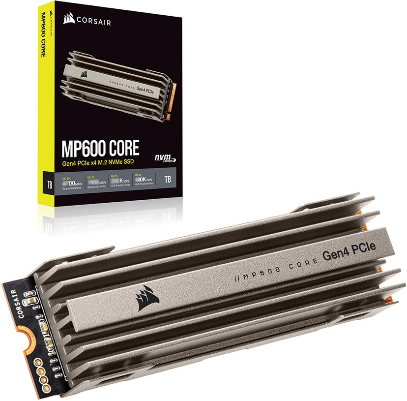 Corsair MP600 Core 2,000GB M.2 2280 PCI Express 4.0 x4 (NVMe)