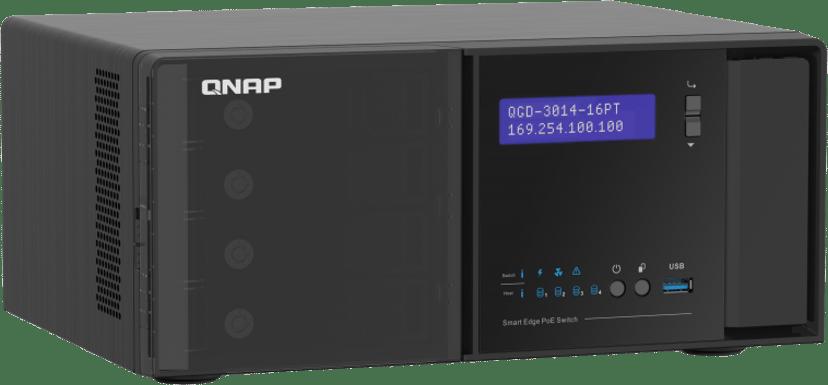 QNAP QGD-3014-16PT Desktop Smart Edge PoE Switch