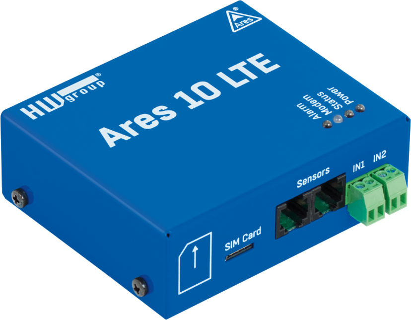 HW-Group Ares 10 GSM-termometer