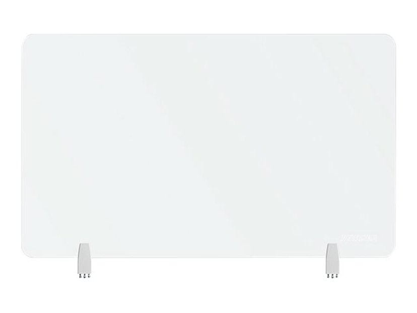 Newstar Avskiljare Hållbar Transparent Skärm 100cm